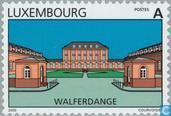 Timbres-poste - Luxembourg - Les paysages et les villes