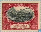 Postage Stamps - Liechtenstein - Buildings