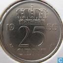 Munten - Nederland - Nederland 25 cent 1955