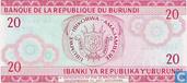 Billets de banque - Burundi - 1977-2007 Issue - Burundi 20 Francs 1977