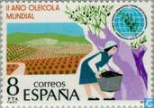 Postage Stamps - Spain [ESP] - Int. Year of Olives Grow