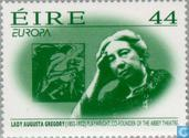 Postage Stamps - Ireland - Europe – Famous women