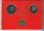 Münzen - Niederländische Antillen - Niederländische Antillen Jahreset 1980 (Beatrix)