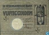 1929 50 florins néerlandais