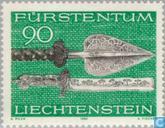 Postzegels - Liechtenstein - Jachtwapens