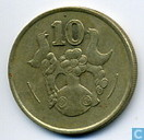 Coins - Cyprus - Cyprus 10 cents 1991