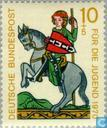 Postage Stamps - Germany, Federal Republic [DEU] - Minnesinger