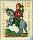 Postzegels - Duitsland, Bondsrepubliek [DEU] - Minnezangers