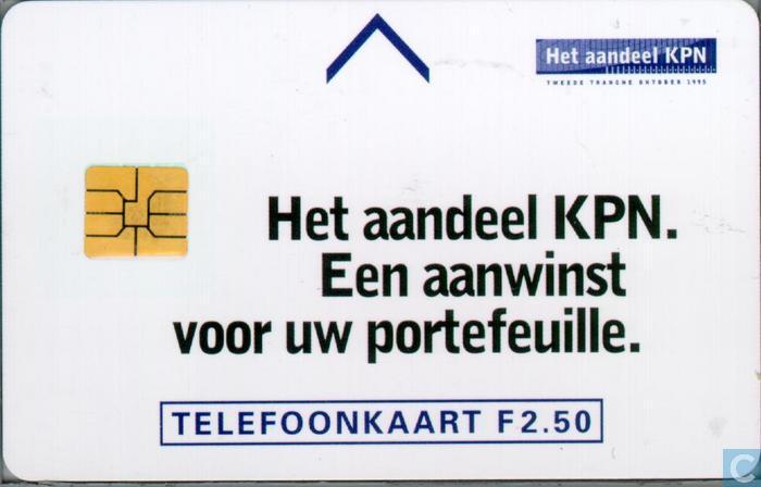 ABN-Amro, het aandeel KPN - PTT Telecom - Catawiki Aandeel Kpn