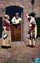 Amersfoort 700 jaar - Gezellig praatje in de Muurhuizen