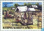 Postage Stamps - Cyprus [CYP] - 75 years of scouting