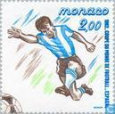 Postage Stamps - Monaco - World Cup