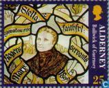 Briefmarken - Alderney - Stella