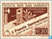 Postage Stamps - San Marino - Press