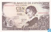 Spanje 100 Pesetas