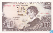 Espagne 100 Pesetas