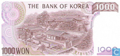 Bankbiljetten - The Bank of Korea - Zuid Korea 1000 Won