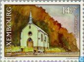 Briefmarken - Luxemburg - Kapellen