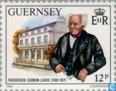 Briefmarken - Guernsey - Corbin, Friedrich 200 Jahre