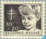 Briefmarken - Belgien [BEL] - Kind Kopf