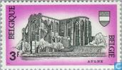 Postage Stamps - Belgium [BEL] - Abbey of Aulne