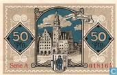 Bankbiljetten - Allenstein - Serie A - Allenstein, Stadt 50 Pfennig