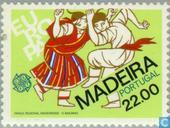 Postage Stamps - Madeira - Europe – Folklore