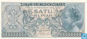 Indonésie 1 Rupiah 1956