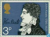 Postage Stamps - Great Britain [GBR] - Keats, John