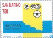 Timbres-poste - Saint-Marin - UEFA