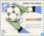 Postage Stamps - Malta - World Cup