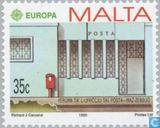 Postage Stamps - Malta - Europe – Post offices