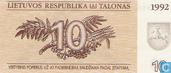 Litauen 10 Talonas