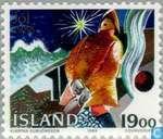Timbres-poste - Islande - Visser