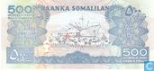 Bankbiljetten - Baanka Somaliland - Somaliland 500 Shillings