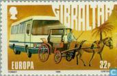 Postage Stamps - Gibraltar - Europe – Transportation and communications
