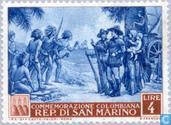 Briefmarken - San Marino - Columbus, Christoph