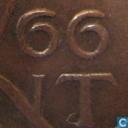 Münzen - Niederlande - Niederlande 1 Cent 1966 (kleine Zahlen)