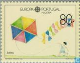 Postage Stamps - Madeira - Europe – Children's games