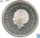 Monnaies - Antilles néerlandaises - Antilles néerlandaises 50 gulden 1980