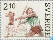 Postzegels - Zweden [SWE] -  Atletiek