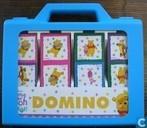 Jeux de société - Domino (plaatjes) - Winnie The Pooh Domino in koffertje