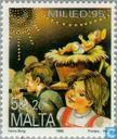 Briefmarken - Malta - Kinder-Prozession