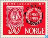 Postage Stamps - Norway - Stamps-anniversary print