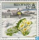 Postage Stamps - Man - Winter Scenes