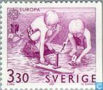 Postage Stamps - Sweden [SWE] - Europe – Children's games