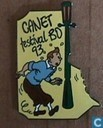 Epingles, pin's et boutons - Tintin - Festival BD Canet '93