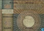 Banknotes - Minerva - 50 guilder Netherlands 1929