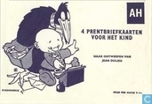 Postcards - Paulus the Woodgnome - 4 prentbriefkaarten voor het kind [vol]