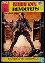 Comic Books - Lasso - Muur van revolvers